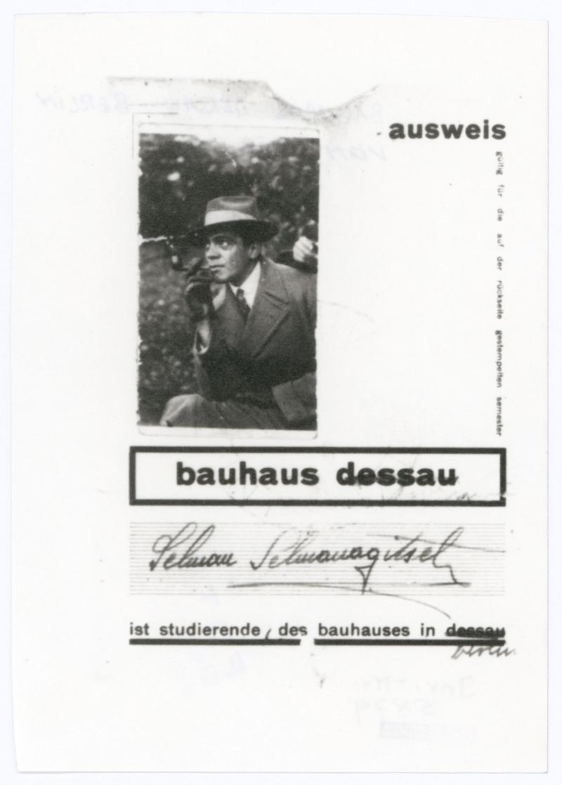Bauhaus-ID, Selman Selmanagić, bauhaus dessau, Reproduction.