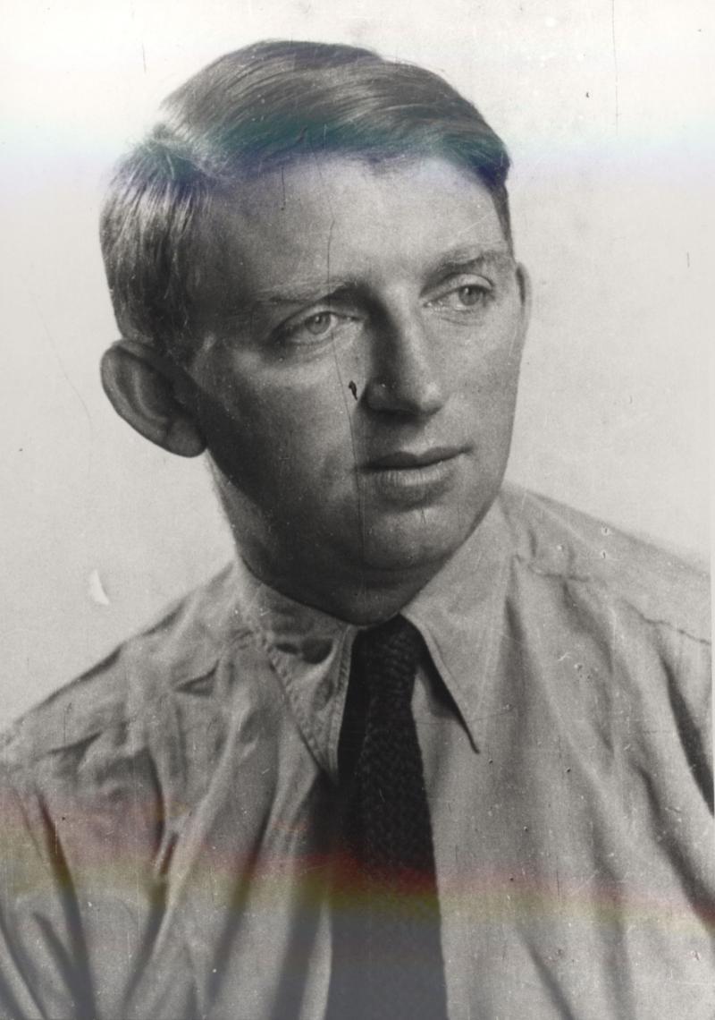 Porträt Arieh Sharon, Foto: unbekannt, um 1928.