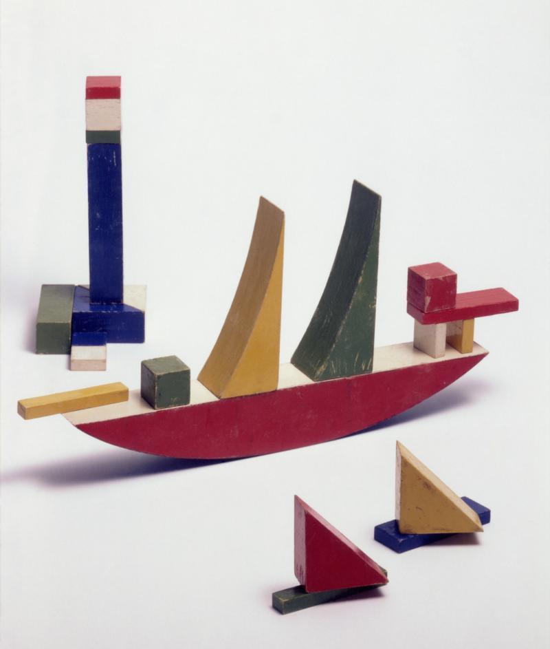 Kleines Schiffbauspiel, Autorin: Alma Siedhoff-Buscher, 1923.
